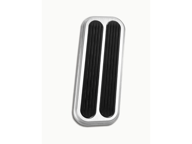 Lokar XBAG-6074 Black Billet Gas Pedal with Rubber