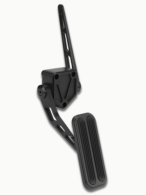 Lokar BAG-6164 Billet Aluminum Throttle Pedal with Rubber for Chevy//GMC C-10