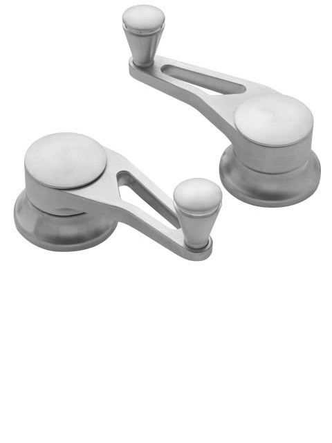 Brushed Vent Window Cranks (pair)