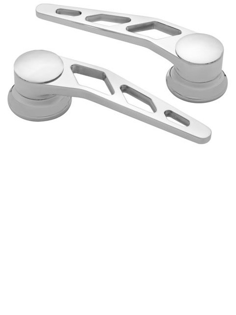 Polished Door Handles (Pair)