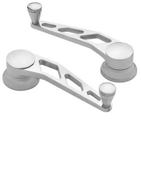 Polished Window Cranks (pair)
