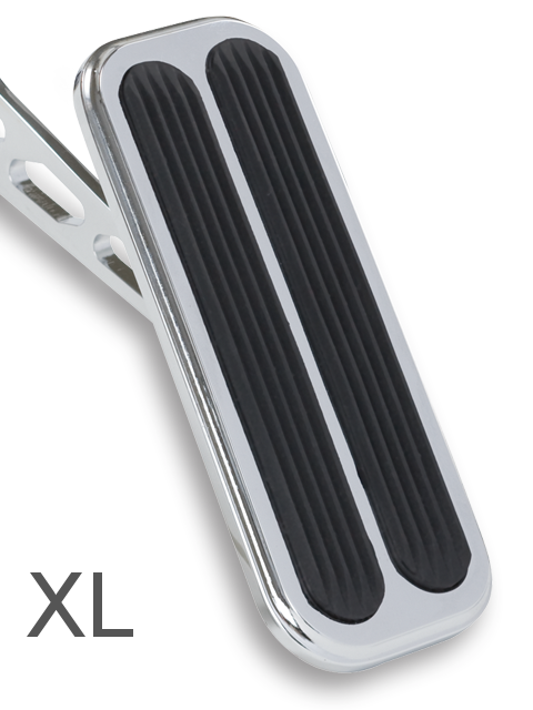 Lokar XSG-6016 Black XL Steel Gas Pedal